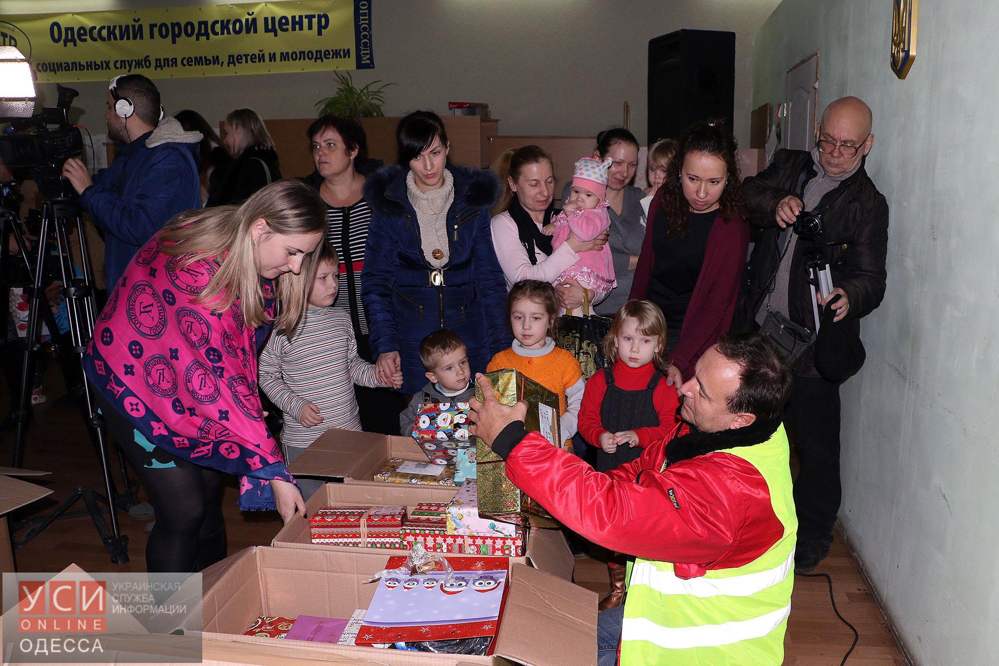 В Одессу прибыл гуманитарный конвой из Германии для детей (фото)