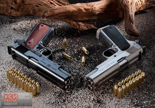 Полиция изъяла солидный арсенал самодельного оружия в Одесской области