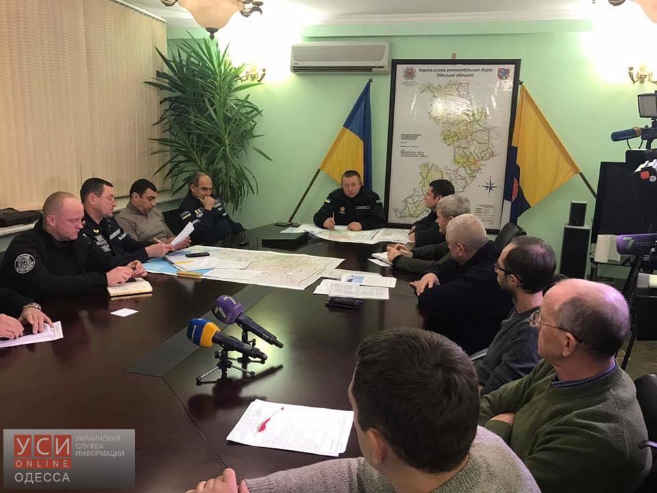 На одесских трассах хотят обустраивать снегоулавливатели