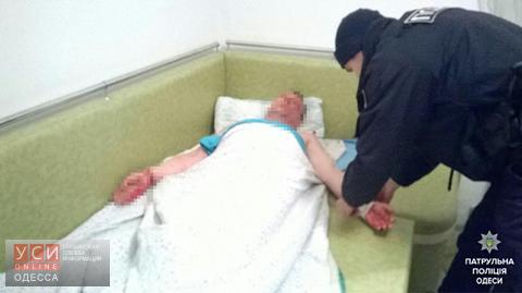 ВОдессе полицейские спасли самоубийцу