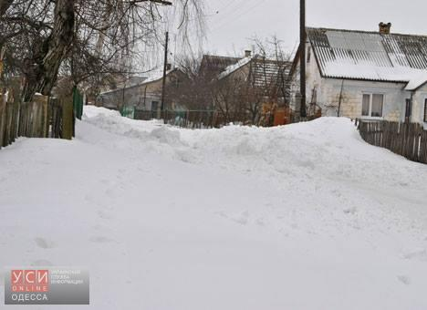 В Ренийском районе восстановили энергоснабжение, но дороги не расчистили