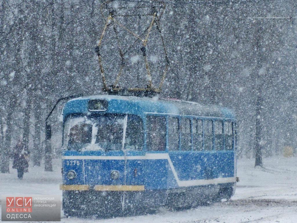 В Одессе ограничили движение трамваев