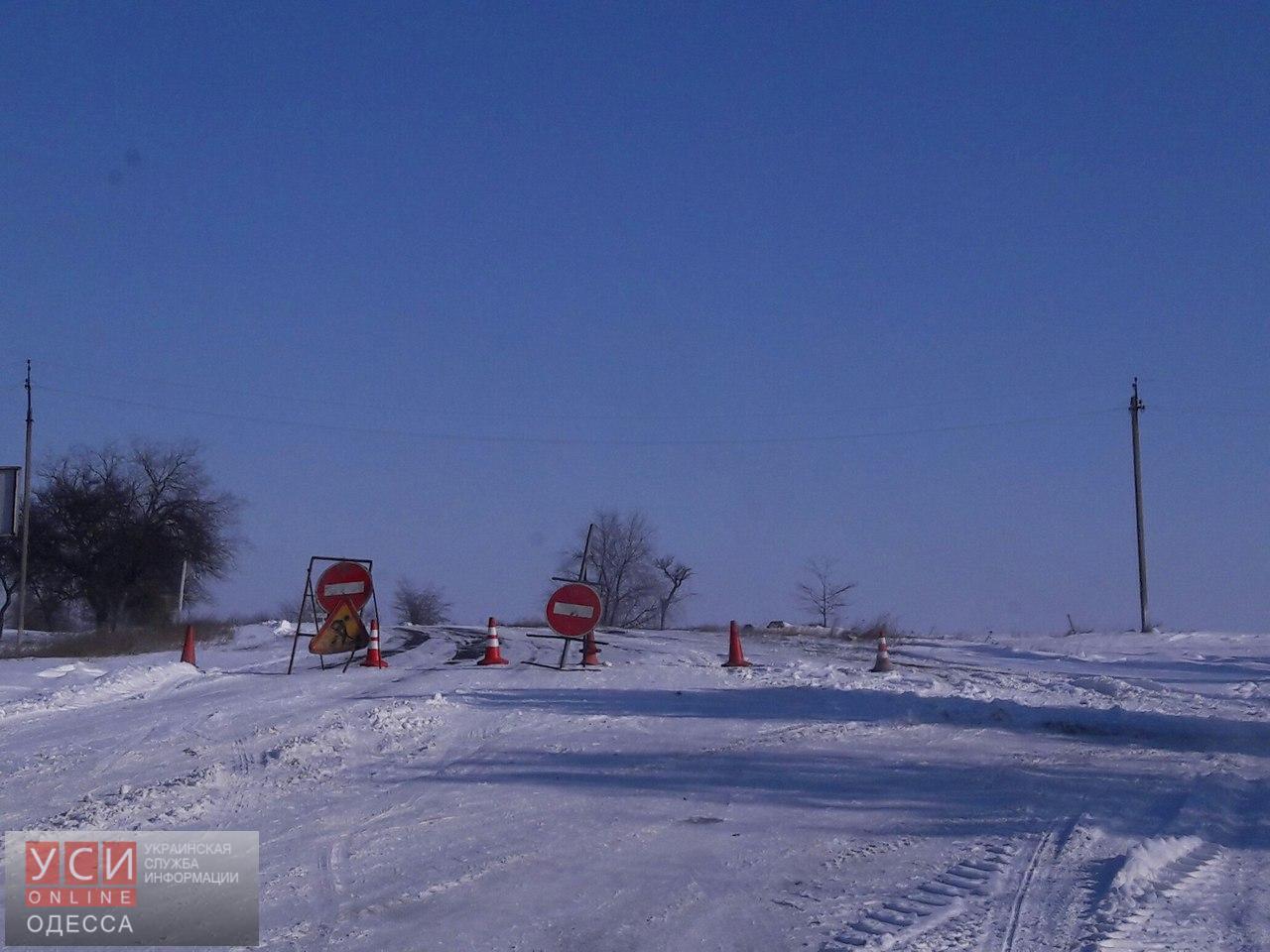 """Трассу """"Одесса-Рени"""" открыли только до Измаила (фото)"""