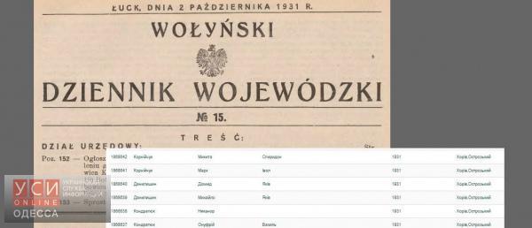 Столичная компания оцифрует базу генеалогических данных Одессы