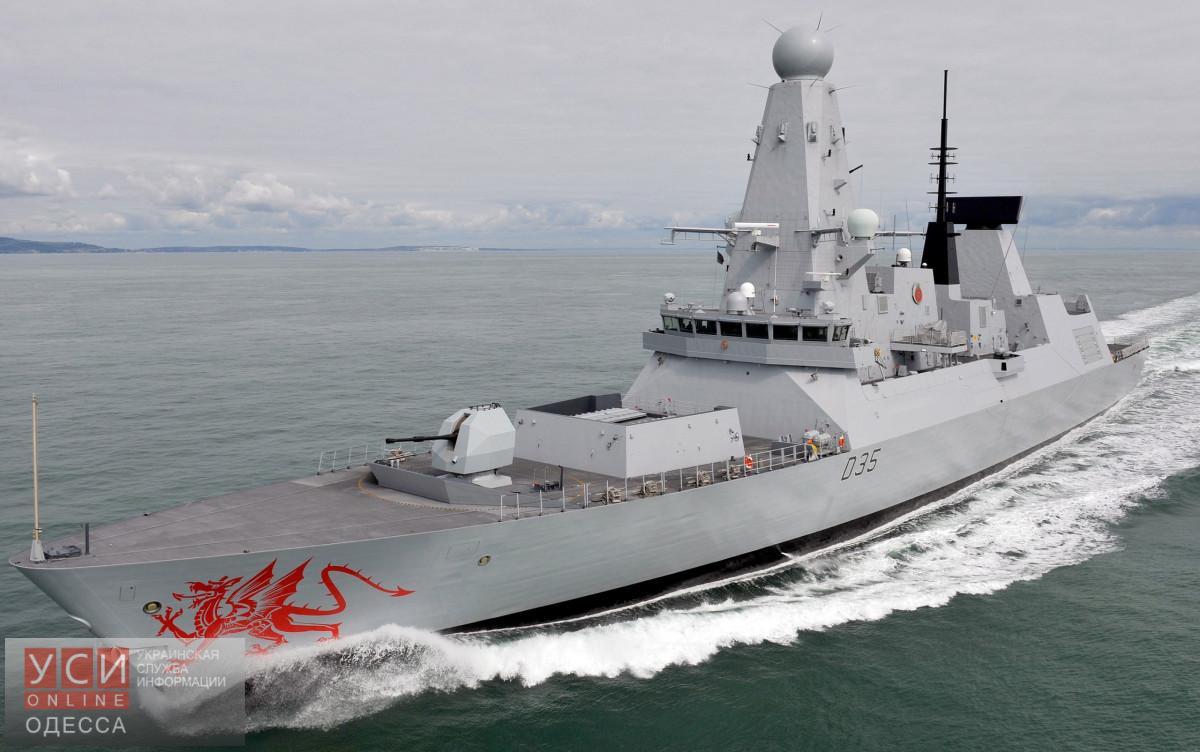 Впервый раз за10 лет британский военный корабль зайдет вукраинский порт