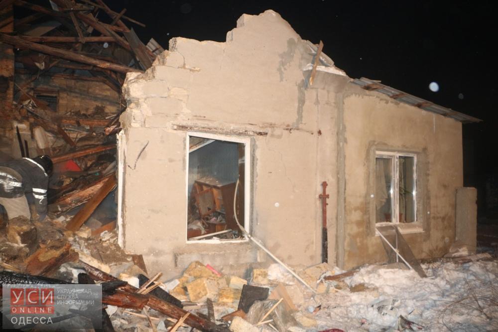 В результате взрыва частного дома в Одессе погибли 2 человека (фото)