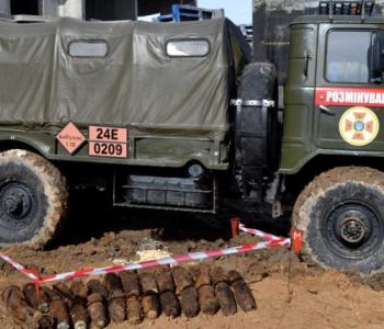 На месте двух строек «Будовы» нашли более 80 снарядов времен Второй мировой войны