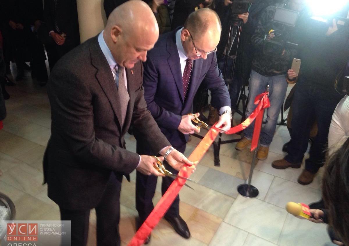 Губернатор Степанов и мэр Труханов открыли новый центр админуслуг (фото) «фото»