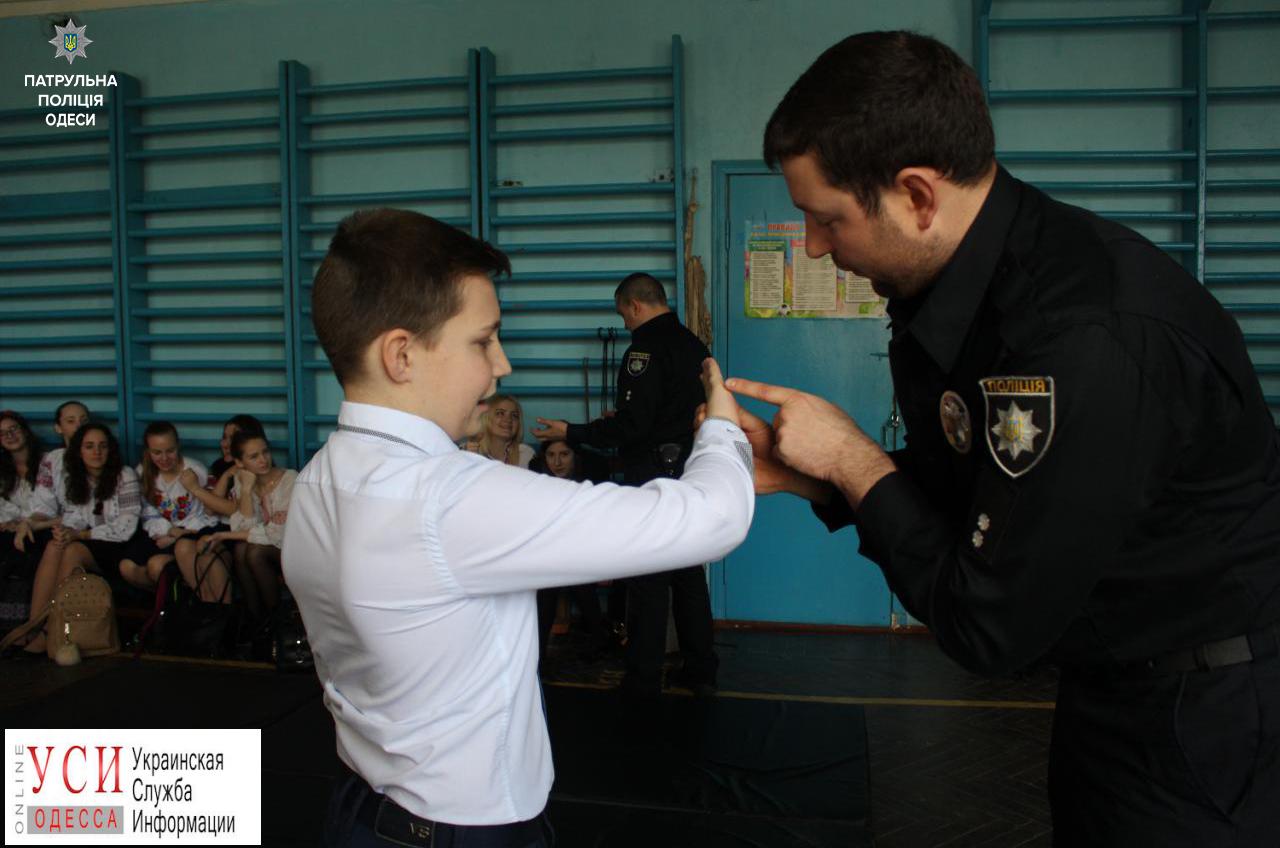 Одесских школьников обучают практической самообороне (фото) «фото»