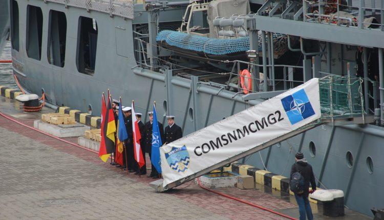 Противоминные корабли НАТО прибыли в Одесский порт (фото)