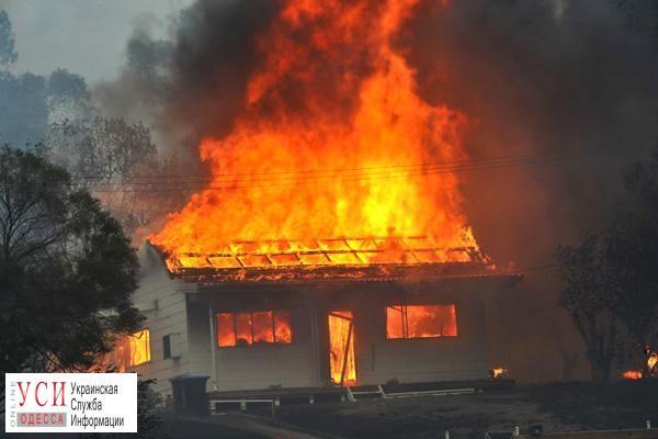 Впроцессе пожара вОдесской области умер мужчина