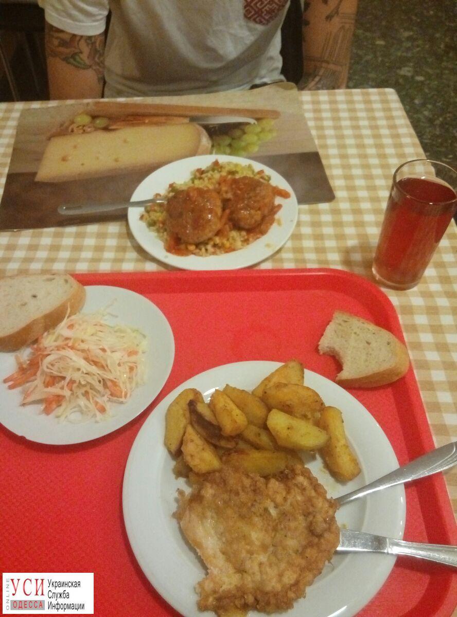 Вторые блюда в столовой