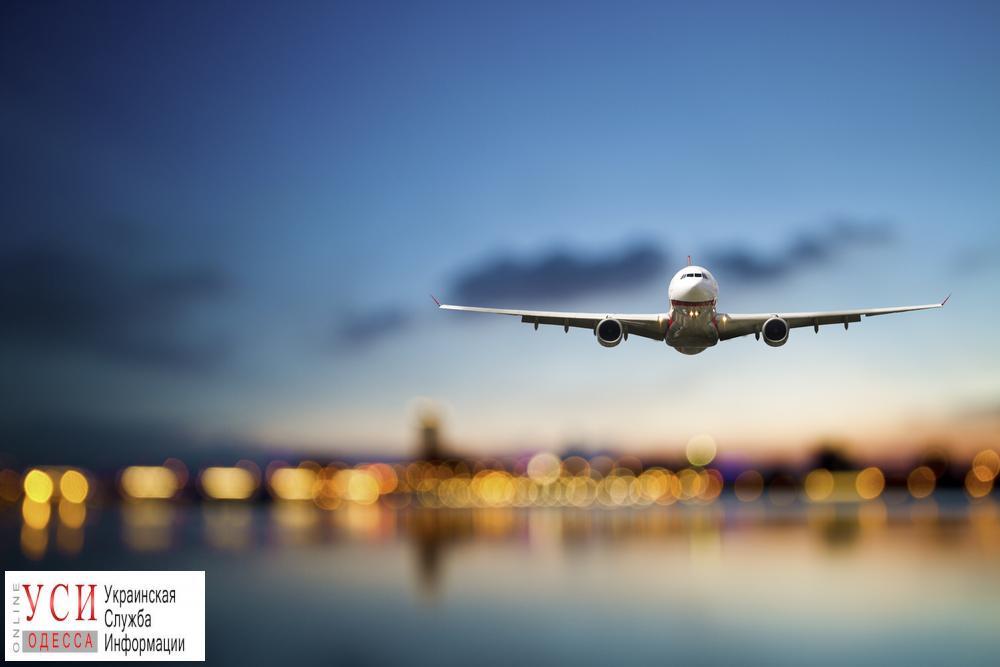 ВОдессе 1-ый рейс лоукостера AirBaltic встретили «водным салютом»