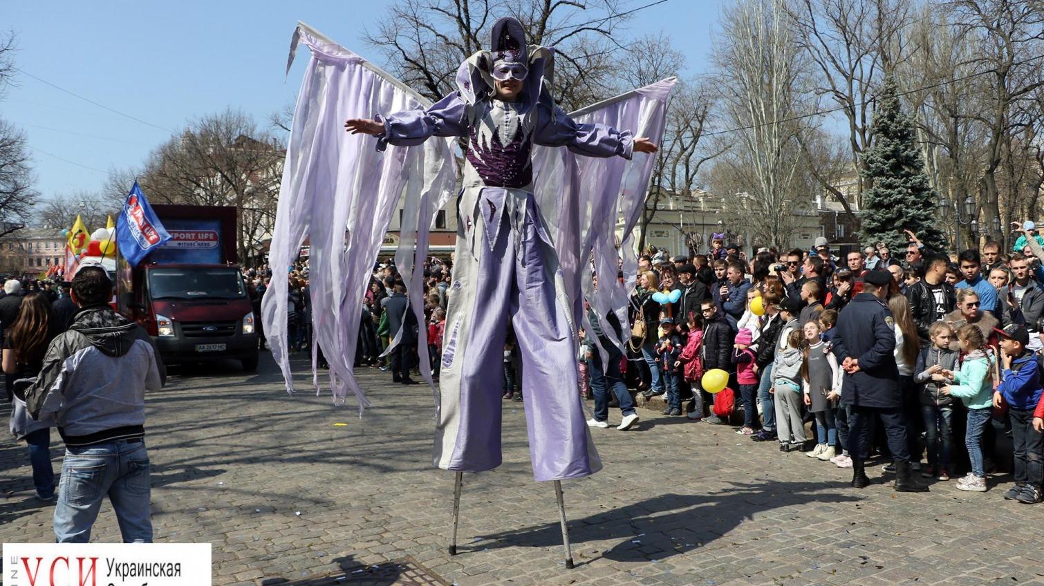 Парад «Юморины-2017»: по Одессе прошлись косплееры, Дарт Вейдер, орки и клоуны (фото) «фото»