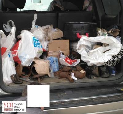 Пограничники вОдесской обл нашли боеприпасы вавто молдаванина