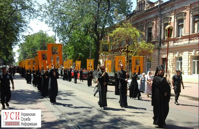 ВОдессе церковь Московского патриархата отменила крестный ход