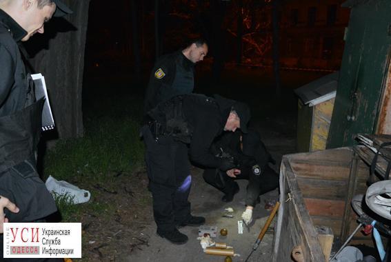 Около вокзала вОдессе милиция отыскала рюкзак совзрывчаткой