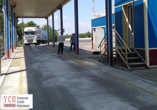 На трассе Киев-Одесса заработал стационарный комплекс для взвешивания фур (фото)  «фото»