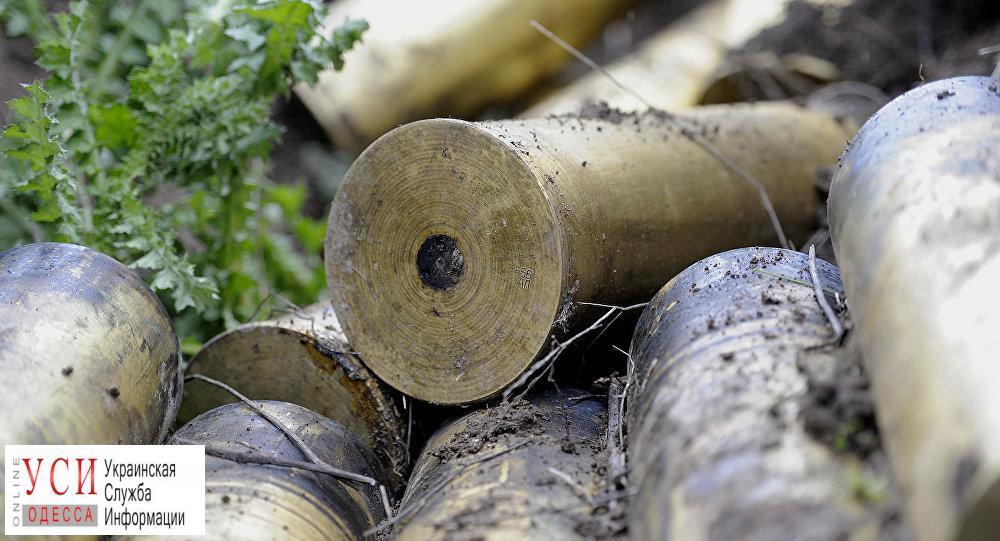 Одесская область: артснаряды решили сдать на металлолом «фото»