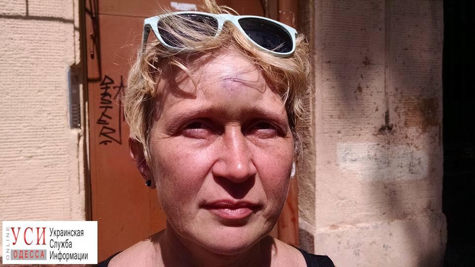 Полиция расследует сегодняшнее нападение на одесскую активистку «фото»