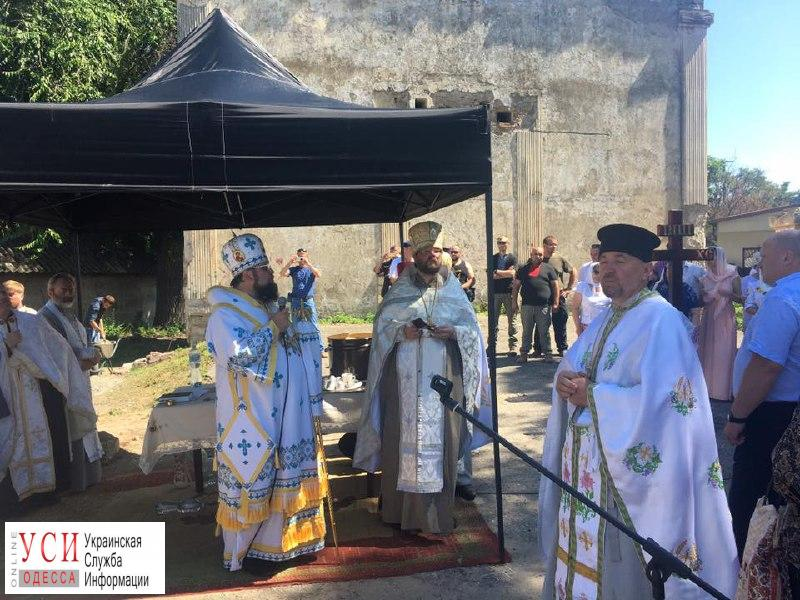В Аккермане заложили первый камень под строительство храма Киевского патриархата (фото) «фото»