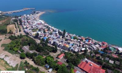 Оползень в Черноморске: элитные коттеджи превратились в «район-призрак» (аэросъемка) «фото»