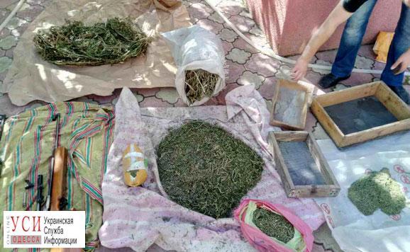 У жителя Одесской области изъяли наркотики, оружие и боеприпасы (фото) «фото»