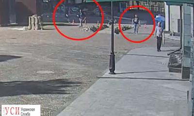Появилось видео, как неадекватные избивают прохожих на Французском бульваре (видео) «фото»