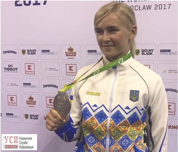 Одесситка завоевала серебро на Всемирных играх по каратэ (фото, видео) «фото»