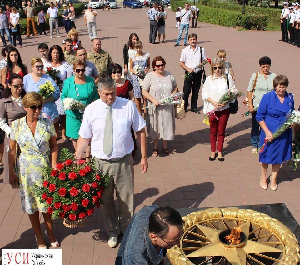 Жители Черноморска отметили День окончания Второй мировой войны (фото) «фото»