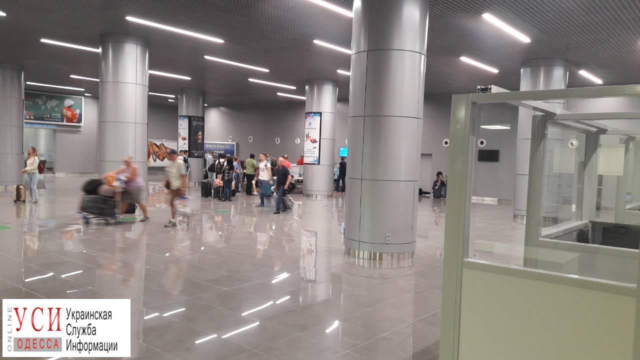 Новый терминал аэропорта «Одесса» начал принимать пассажиров международных рейсов (фото) «фото»