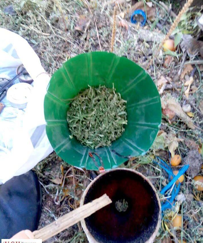 Пограничники обнаружили у жителя Одесской области оружие и наркотики (фото) «фото»