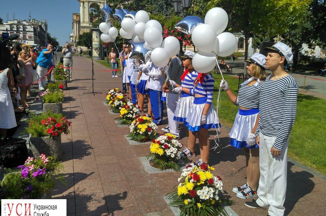 В Одессе открыли новые имена на Аллее звезд (фото) «фото»