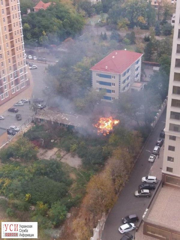 В Аркадии снова пожар (фото) «фото»