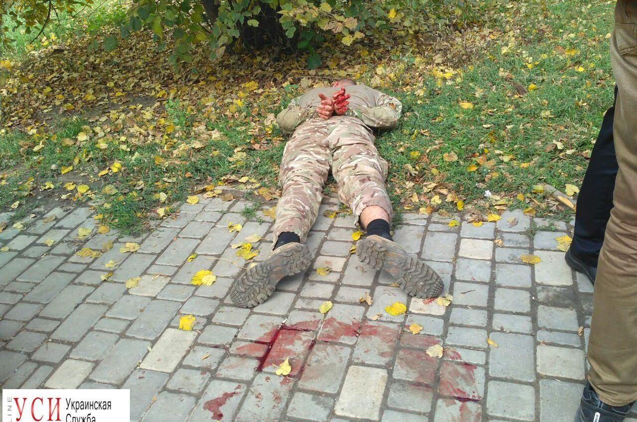 Драка в парке Шевченко: охранники ларька побили троих пьяных активистов (фото) «фото»