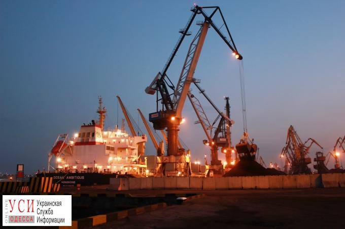 В порт Южный прибыл второй балкер с углем из США «фото»