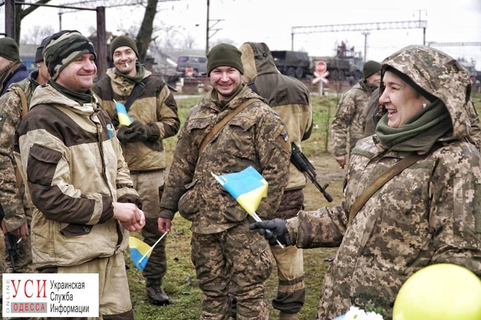 Бойцы одесской мехбригады возвращаются с фронта — началась ротация (фото) «фото»