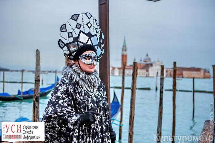 Одесситка в костюме собственного изготовления вошла в десятку лучших участниц Венецианского карнавала «фото»