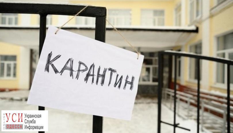 В Шабо младшеклассников отпустили на карантин из-за гриппа «фото»