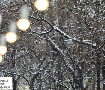 Зима 2.0: за пять дней до весны в Одессе снова выпал снег