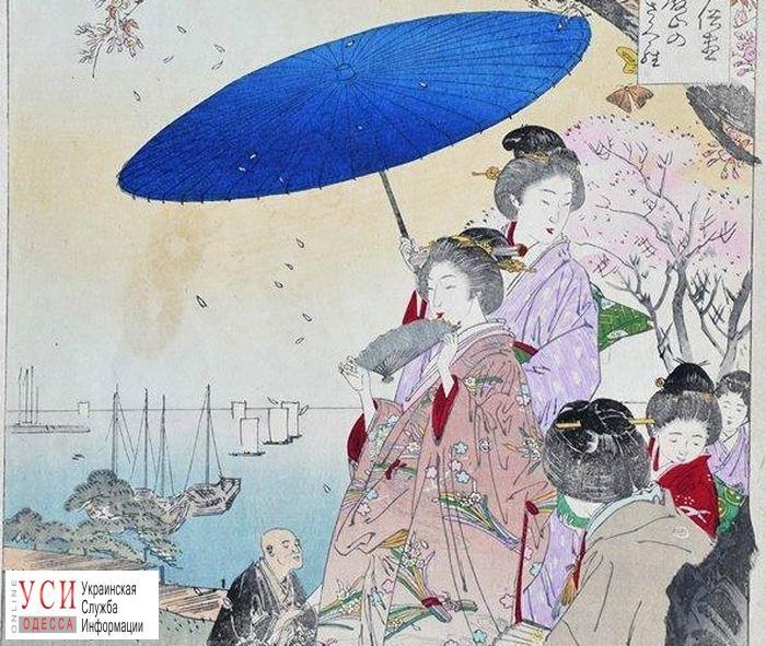 В Одессе откроется выставка старинных японских гравюр «фото»