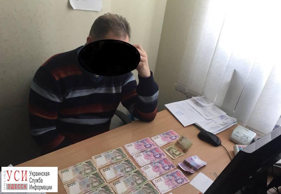 Одесский ветеринар попался на взятке (фото) «фото»