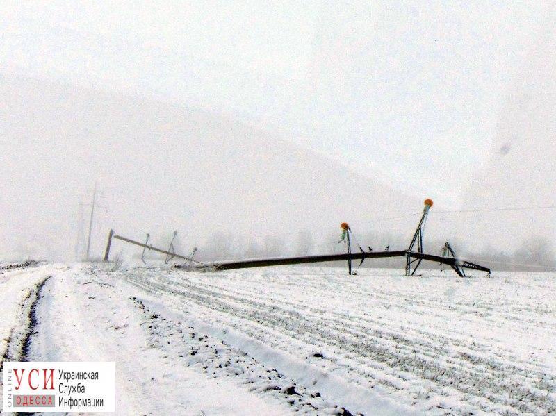 Январская непогода нанесла Одесской области значительный урон «фото»