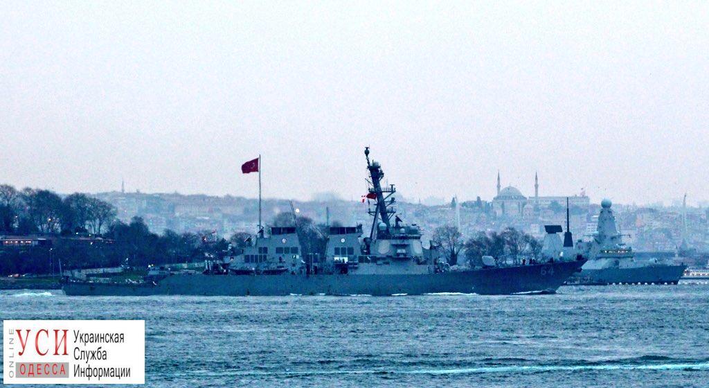В Черное море вошли два американских эсминца «фото»
