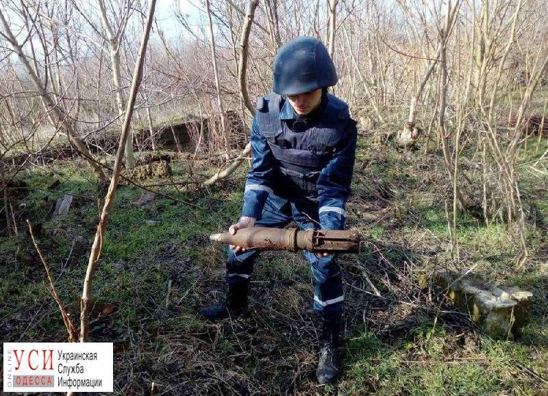В Арцизском районе во время земляных работ нашли артснаряд (фото) «фото»