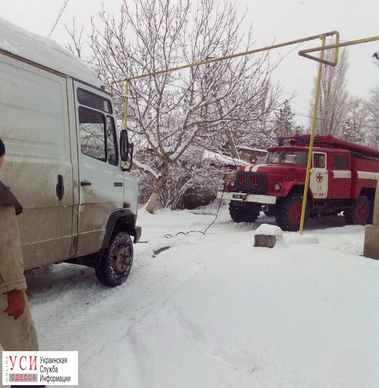 В Одесской области из снежного плена спасли 6 человек «фото»