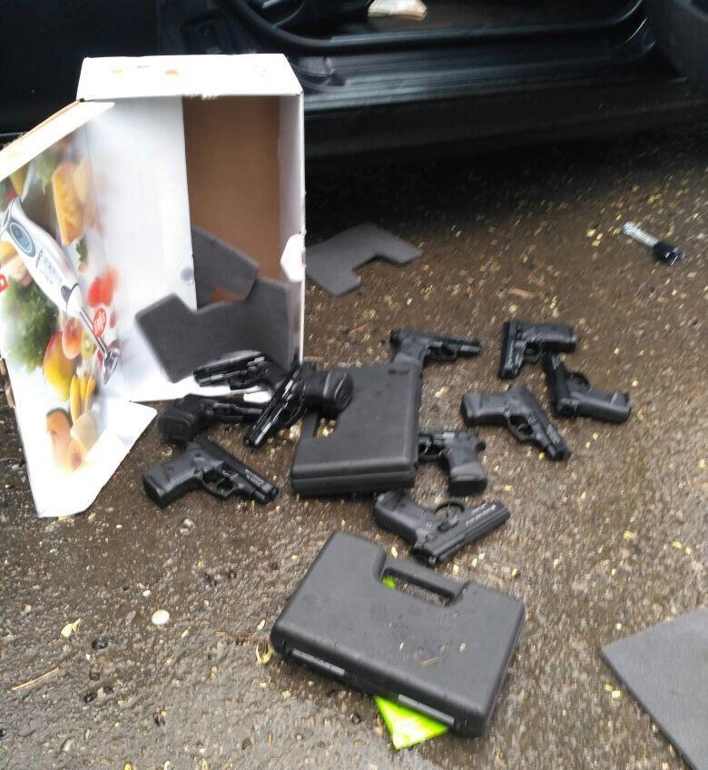 В Измаиле задержали торговца оружием (фото) «фото»