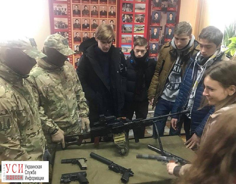 В Одесском СБУ провели день открытых дверей для школьников (фото) «фото»