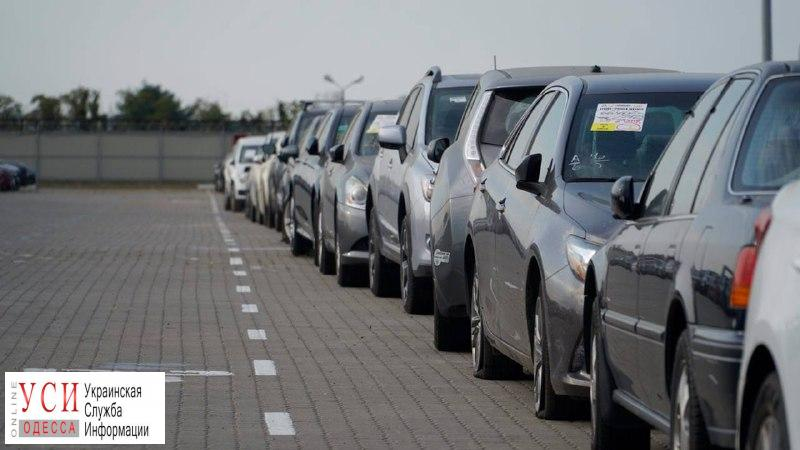 Количество зарегистрированных в Одесской области авто увеличилось в 8 раз «фото»