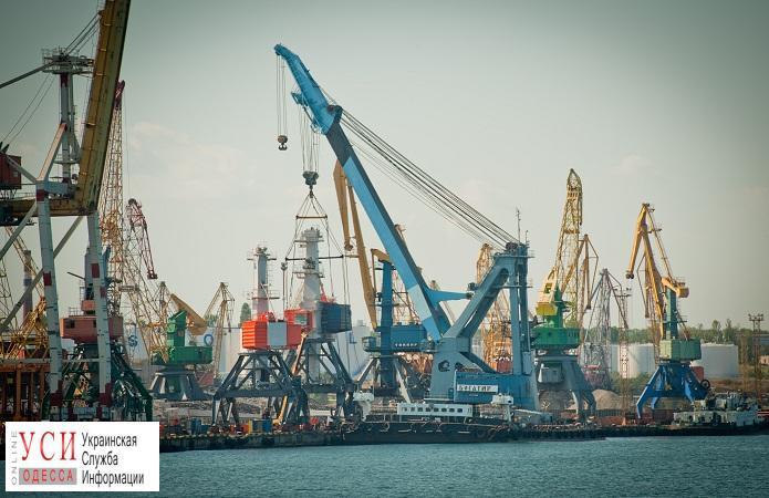 Кабмин утвердил проект реконструкции порта Черноморск «фото»